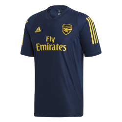 Maillot entraînement Arsenal bleu jaune 2019/20