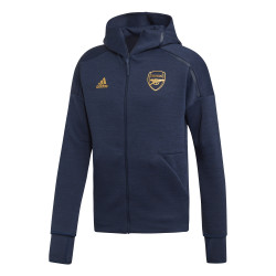 Veste survêtement Arsenal ZNE bleu or 2019/20