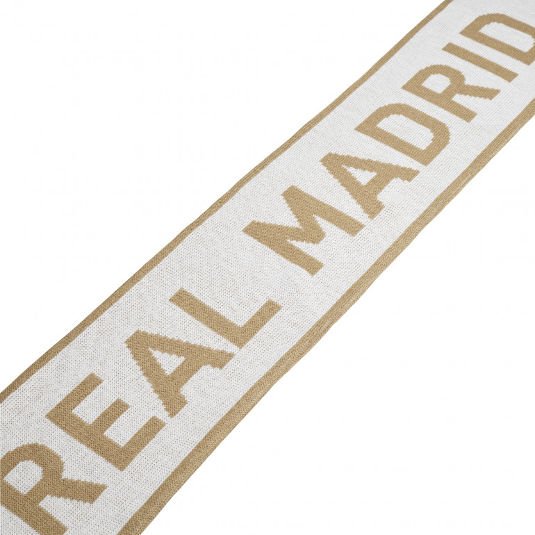 Echarpe Real Madrid blanc or 2019/20