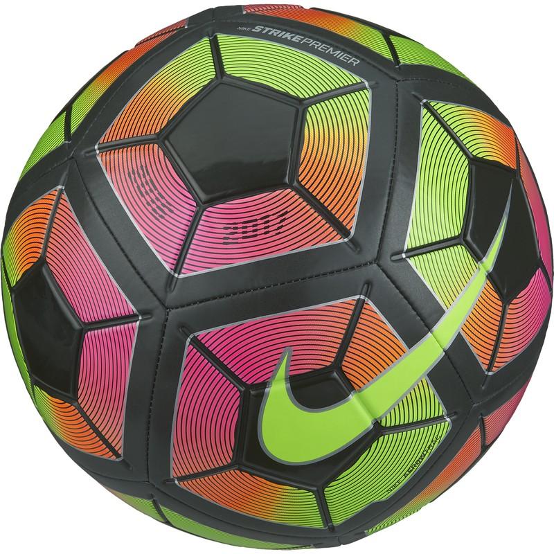 Ballon Nike strike premium football vert et rose sur Foot.fr