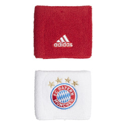 Serre poignet Bayern Munich blanc rouge 2019/20
