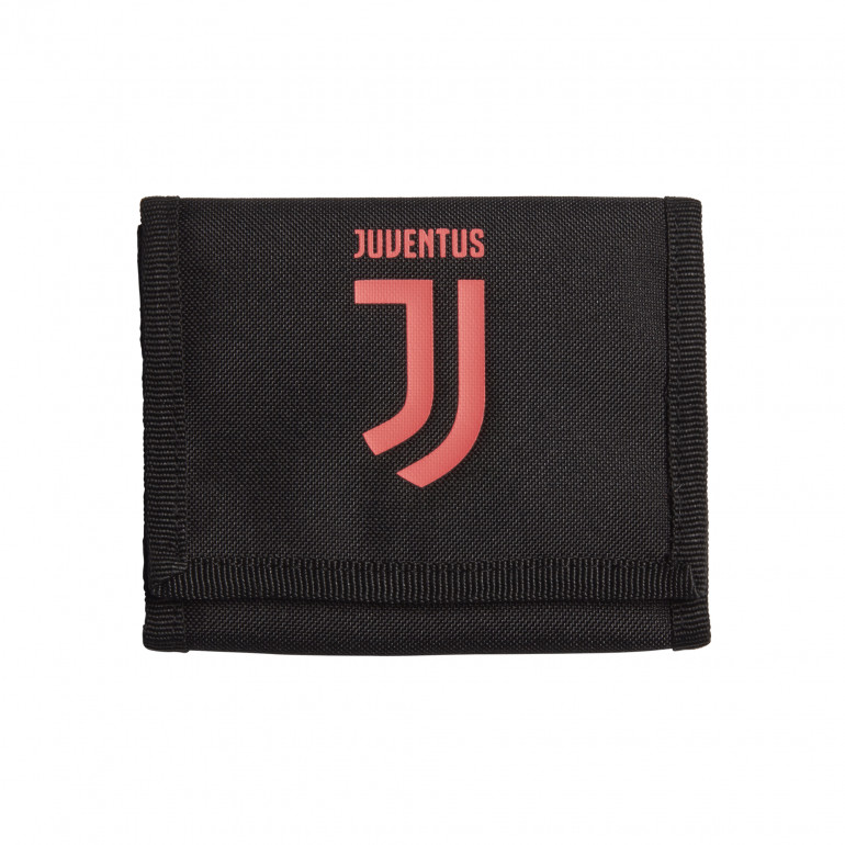 Portefeuille Juventus noir rose 2019/20