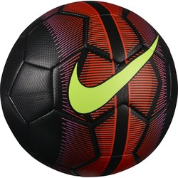 Ballon Mercurial Nike noir et rouge
