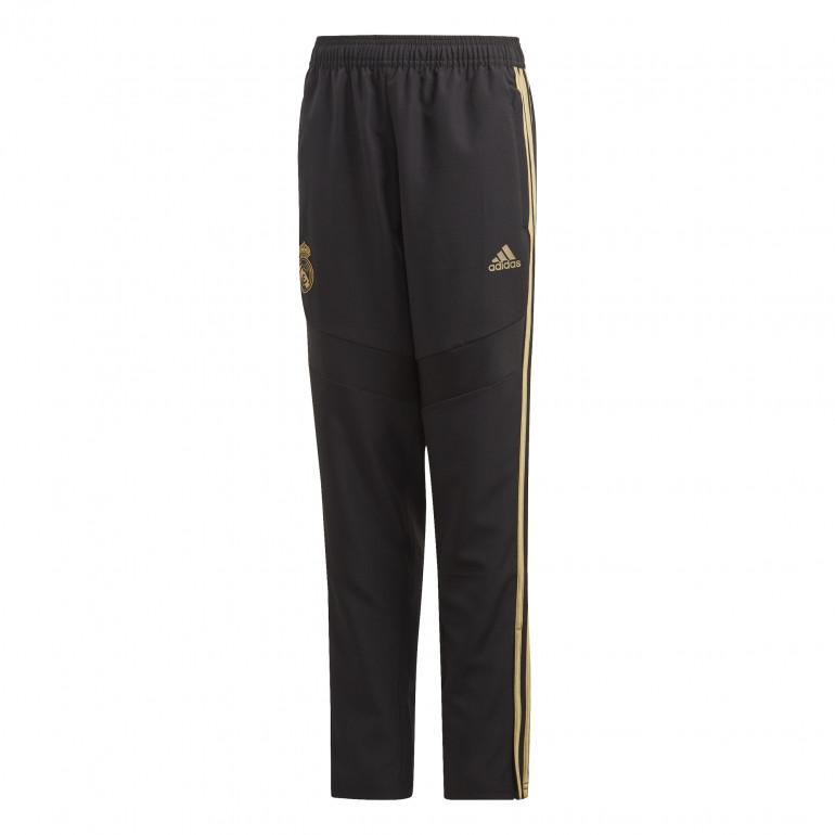 Pantalon survêtement woven junior Real Madrid noir or 2019/20