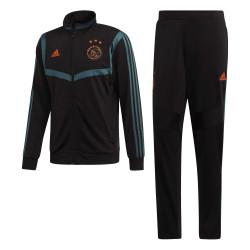 Ensemble survêtement Ajax Amsterdam noir bleu 2019/20