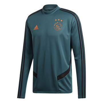 Sweat entraînement Ajax Amsterdam bleu 2019/20
