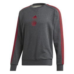 Sweat Ajax Amsterdam 3S gris 2019/20