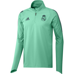 Sweat zippé Real Madrid Europe vert 2019/20