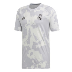 Maillot entraînement Real Madrid graphic gris 2019/20