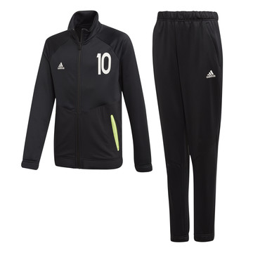 Ensemble survêtement junior adidas Messi noir jaune 2019/20