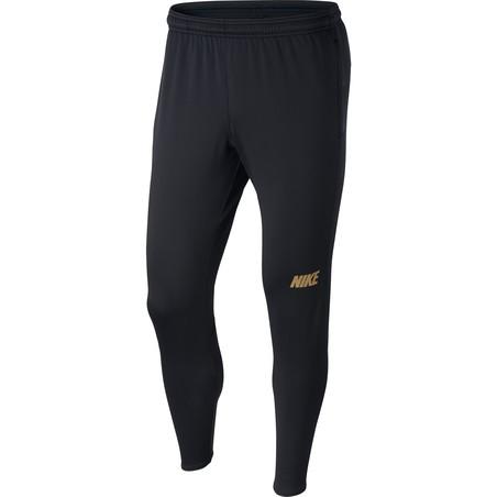 Pantalon survêtement Nike Squad noir or 2019/20