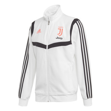 Veste entraînement Juventus blanc rose 2019/20