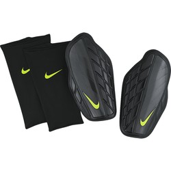 Protège tibias Nike Protegga Pro noir logo jaune