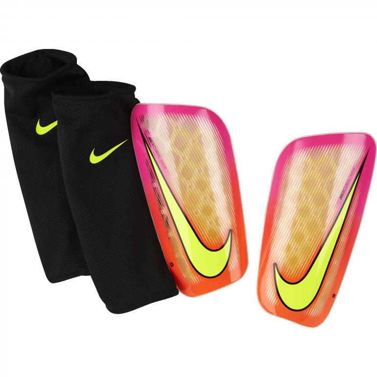 Protège tibias Nike Mercurial Flylite rouge