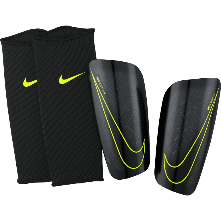 prot ge tibias nike mercurial lite noir sur. Black Bedroom Furniture Sets. Home Design Ideas