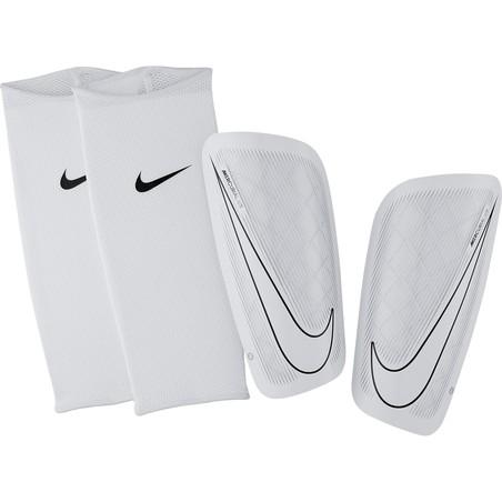 Protège tibias Nike Mercurial Lite blanc