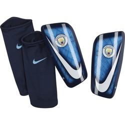 Protège tibias Manchester City bleu