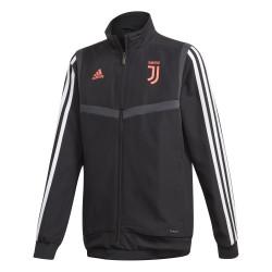 Veste entraînement junior Juventus noir rose 2019/20