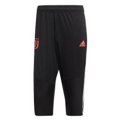 Pantalon survêtement 3/4 Juventus noir rose 2019/20