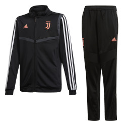 Ensemble survêtement junior Juventus noir rose 2019/20
