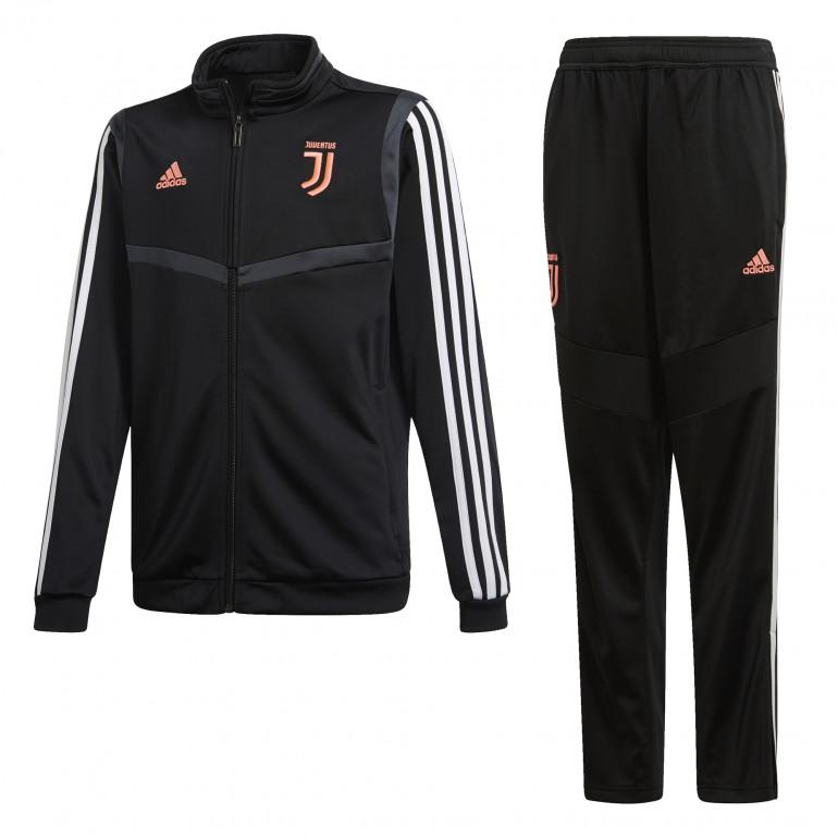 Ensemble survêtement junior Juventus noir rose 2019/20