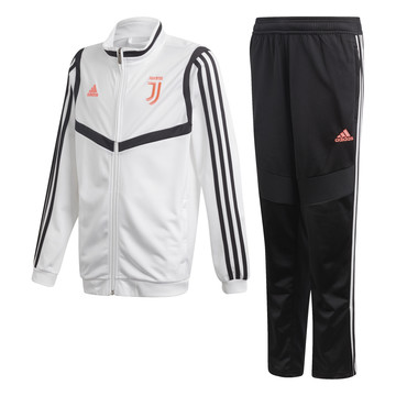 Ensemble survêtement junior Juventus blanc noir 2019/20