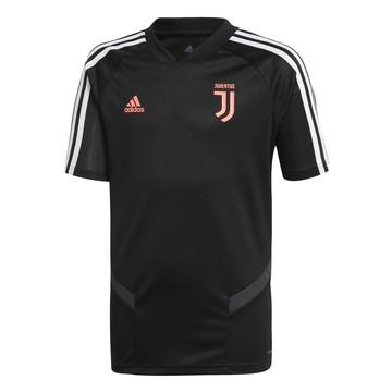 Maillot entraînement junior Juventus noir rose 2019/20