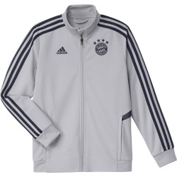 Veste survêtement junior Bayern Munich gris 2019/20