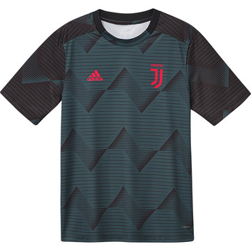 Maillot avant match junior Juventus graphic vert 2019/20