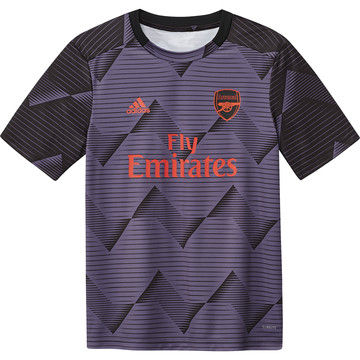 Maillot avant match junior Arsenal graphic violet 2019/20