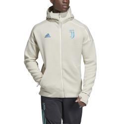 Veste survêtement Juventus ZNE blanc bleu 2019/20
