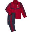 Ensemble survêtement enfant Arsenal rouge bleu 2019/20