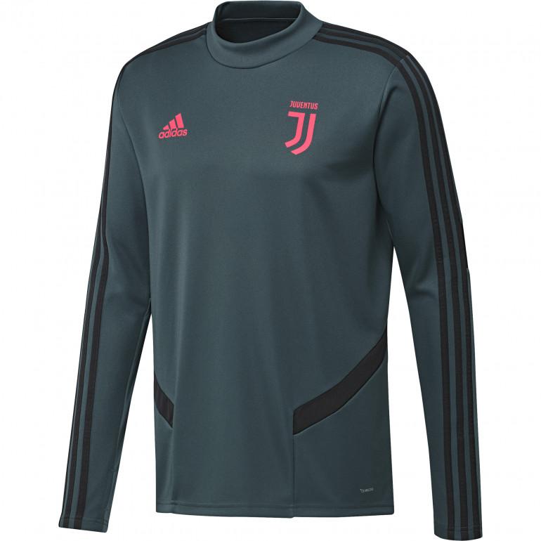 Sweat entraînement Juventus vert rose 2019/20