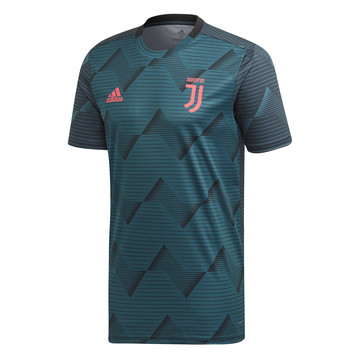 Maillot avant match Juventus graphic vert 2019/20