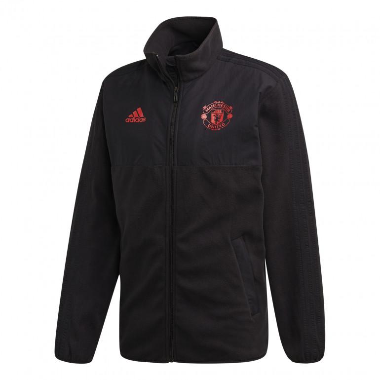 Veste Manchester United Fleece noir 2019/20