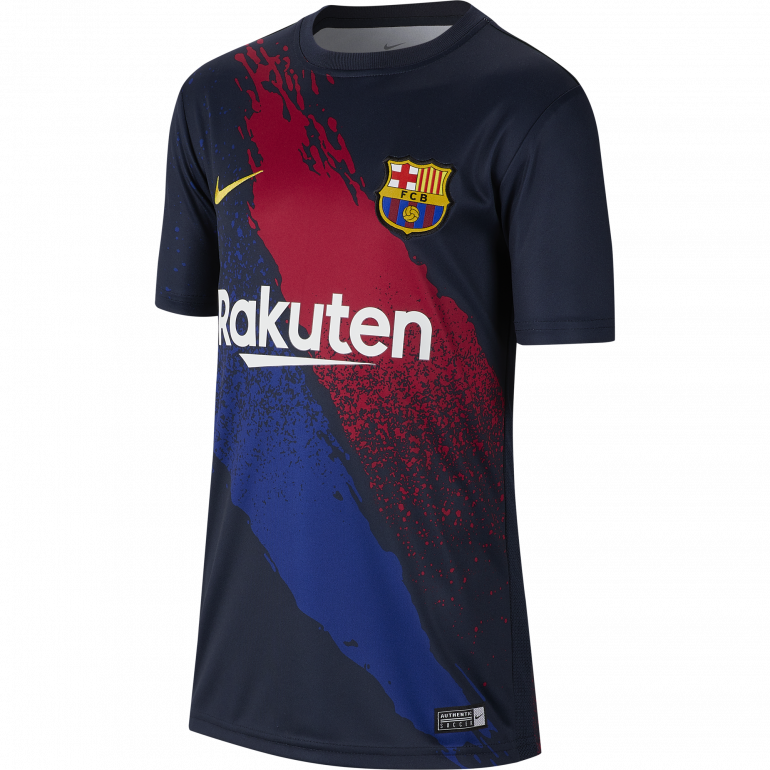 Maillot entraînement junior FC Barcelone graphic 2019/20