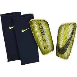 Protège tibias Nike SUPERLOCK jaune 2019/20