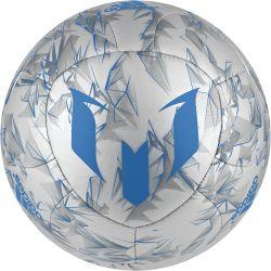 Ballon Messi argenté et bleu adidas