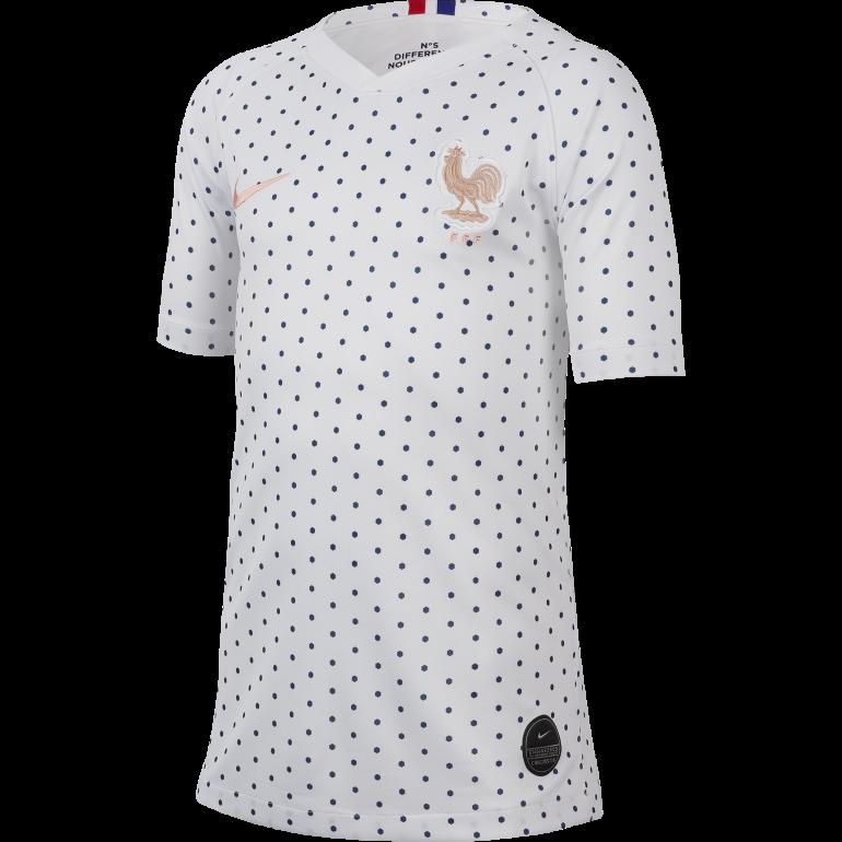 Maillot junior Equipe de France extérieur 2019
