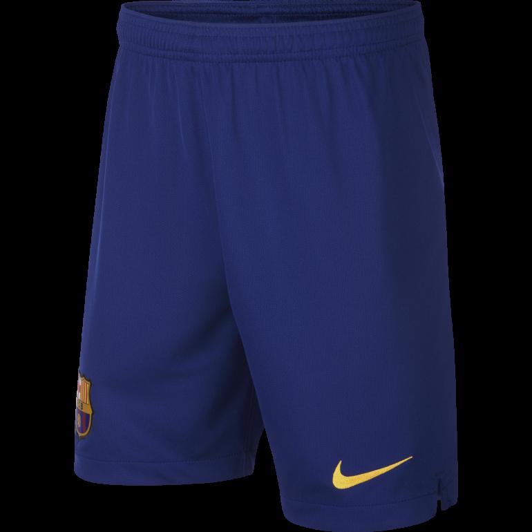 Short junior FC Barcelone domicile 2019/20
