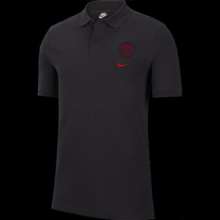 Polo PSG noir rouge 2019/20