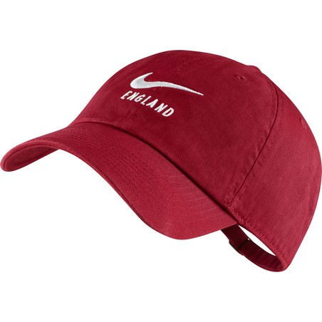 Casquette Angleterre rouge 2019