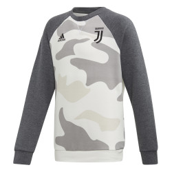 Sweat junior Juventus camouflage blanc 2019/20