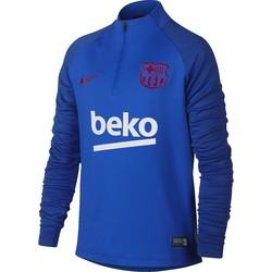 Sweat zippé junior FC Barcelone bleu 2019/20