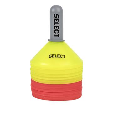 Cones entraînement Select jaune rouge pack 24