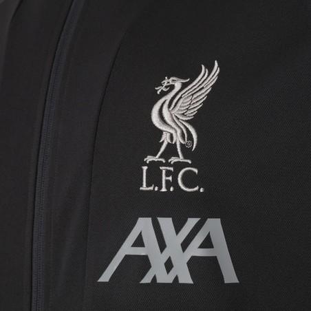 Ensemble survêtement Liverpool noir 2019/20