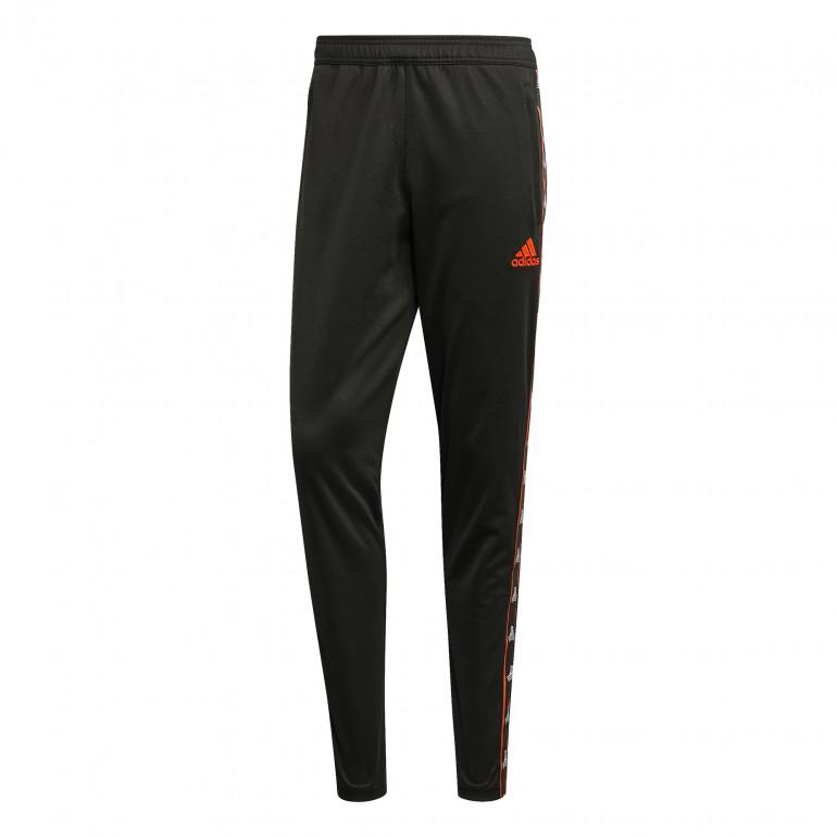 Pantalon survêtement adidas Tango noir orange 2019/20