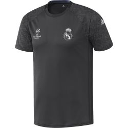 Maillot entraînement Europe Real Madrid noir 2016 - 2017