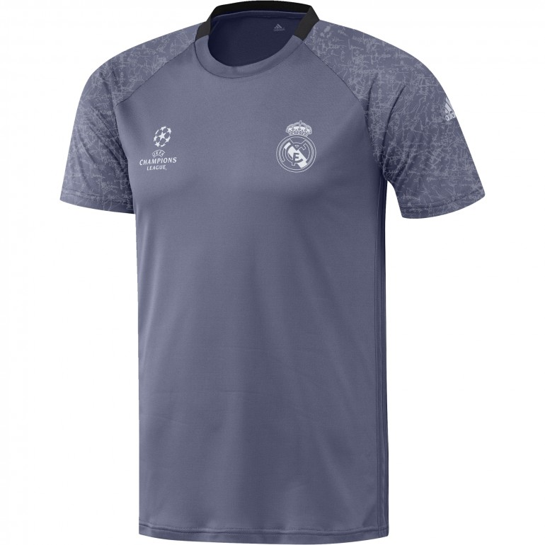 Maillot entraînement Europe Real Madrid bleu 2016 - 2017