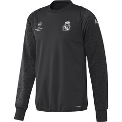 Training top Real Madrid Europe noir 2016 - 2017